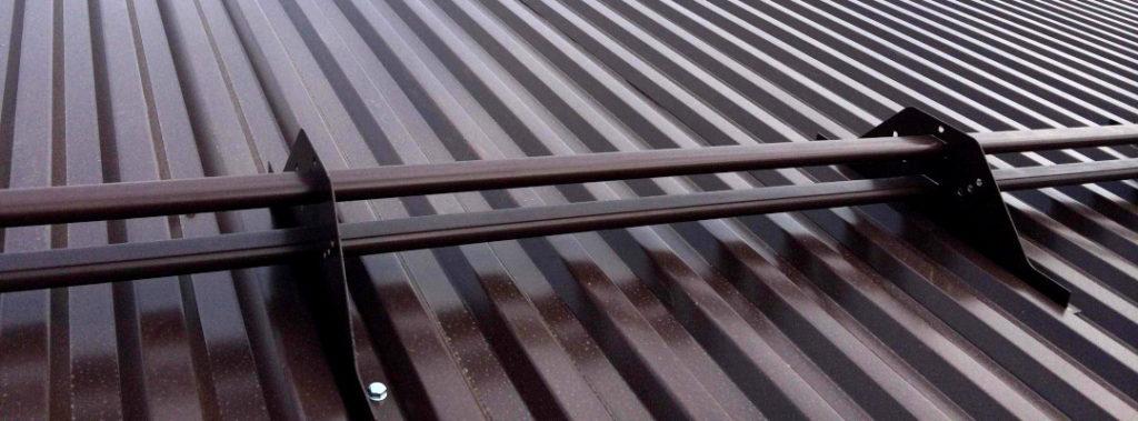 Профнастил С21, RAL 8017, шоколадно-коричневый
