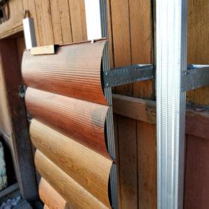 Монтаж сайдинга блок хаус на деревянный фасад