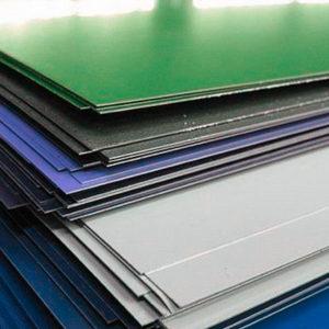 Оцинкованный стальной лист с полимерным покрытием