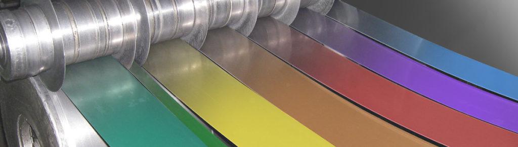 Штрипс с полимерным покрытием