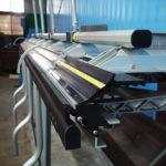 Обработка и окраска металла на оборудовании завода Железный форт