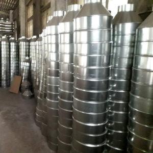 Воронки оцинкованные водосборные от завода Железный форт