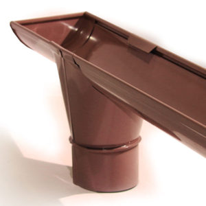Выпускная воронка из оцинкованной стали