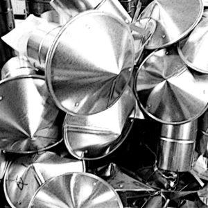 Зонты вытяжные для вентиляции от завода Железный форт