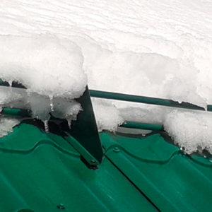 Круглый снегозадержатель усиленной конструкции