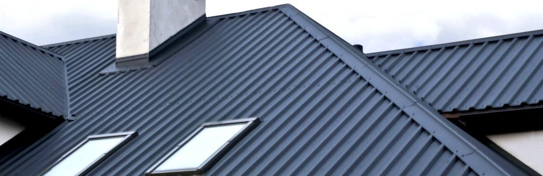 Крыша из оцинкованного и окрашенного профнастила