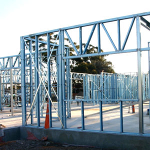 ЛСТК для строительства легких зданий