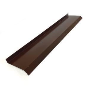 Отлив для окон шоколадно-коричневый RAL 8017