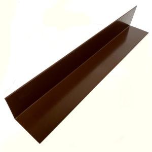 Угол для сайдинга внутренний простой