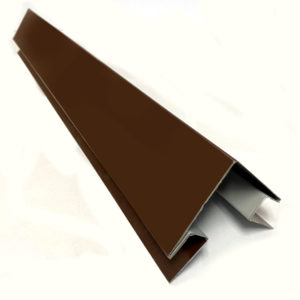 Угол для сайдинга сложный внешний окрашеный