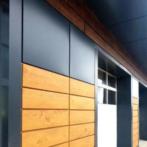 Доборные элементы для металлокассет на фасаде